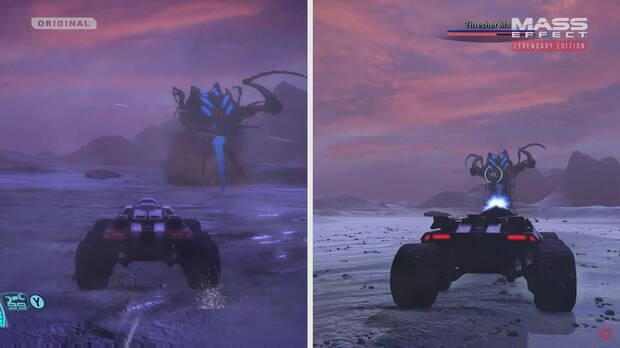 Mass Effect: Legendary Edition diferencias