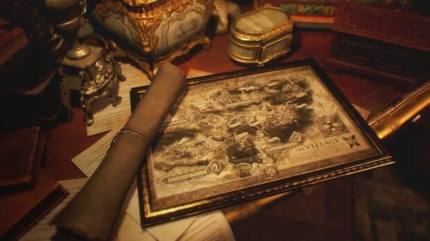 Mapa de Resident Evil 8: Village.