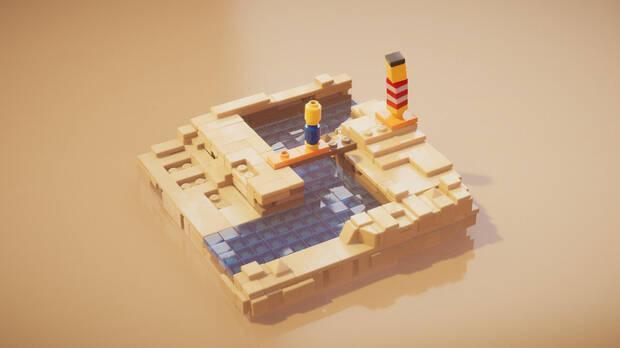 Captura de Lego Builder's Journey.