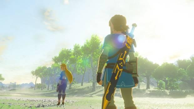 Zelda Breath of the Wild Switch Wii U
