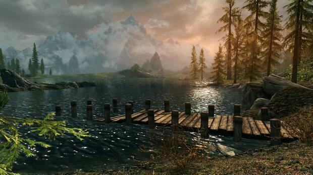 Captura de The Elder Scrolls V: Skyrim.