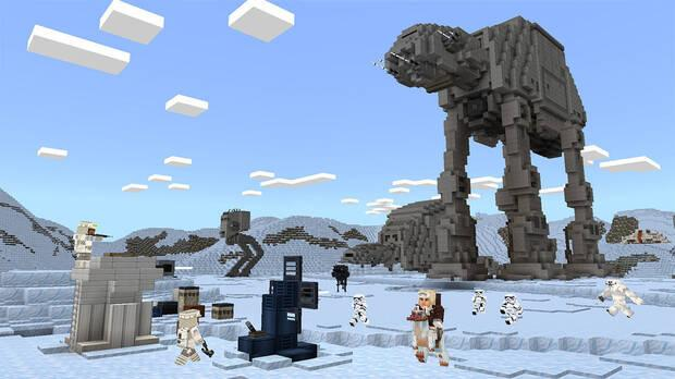 Minecraft Star Wars DLC pel