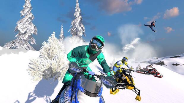 Snow Moto Racing Freedom Imagen 1