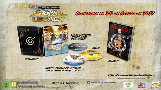 Naruto Shippuden: Ultimate Ninja Storm Legacy Imagen 1