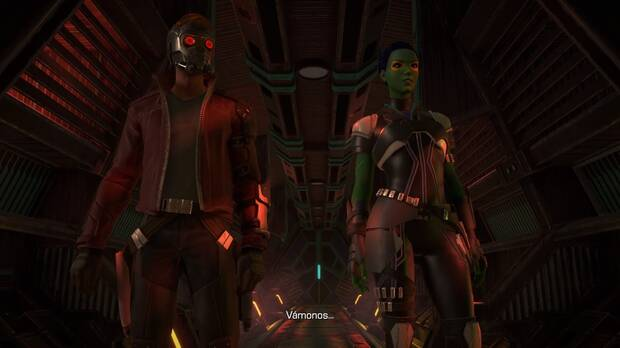 Screenshot from Marvel's Guardians of the Galaxy: The Telltale Series.