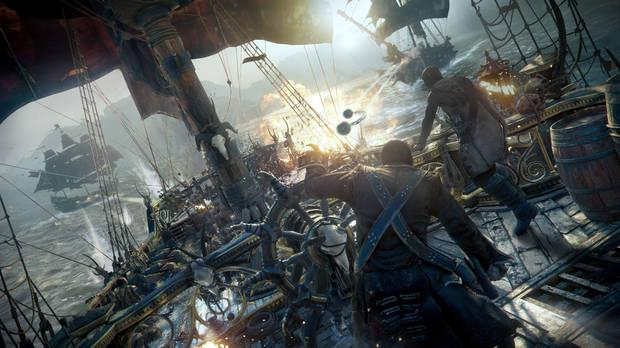 Screenshot of Skull and Bones.