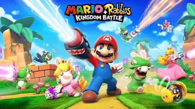 Anunciado oficialmente Mario + Rabbids Kingdom Battle en el E3 Imagen 2