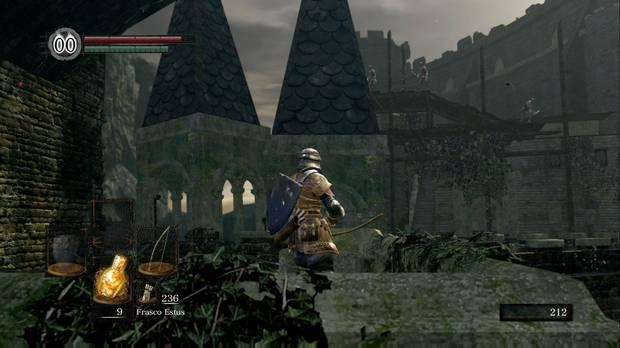 Dark Souls Remastered, Burgo de los no muertos, Puente, Lanzabombas, Arco