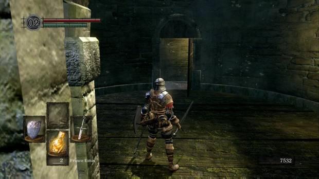 Dark Souls Remastered, Burgo de los no muertos, Torre Demonio de Tauro, Puerta Havel