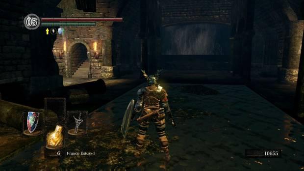 Dark Souls Remastered, Profundidades, Atajo hoguera, Dragón boquiabierto, Domhnall de Zena