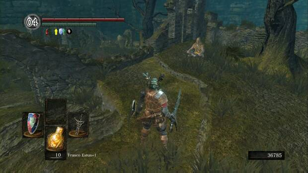 Dark Souls Remastered, Jardín Tenebroso, Santuario de Enlace del fuego, Laurentius del Gran Pantano, Piromancias