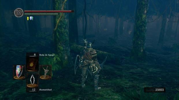 Dark Souls Remastered, Jardín Tenebroso, Setas gigantes
