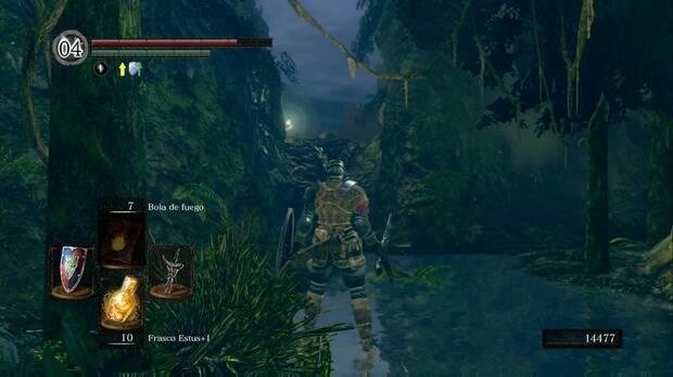 Dark Souls Remastered, Jardín Tenebroso, Camino a la cuenca tenebrosa
