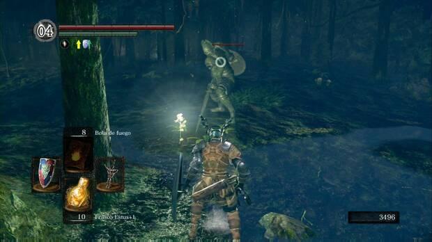 Dark Souls Remastered, Jardín Tenebroso, Gigante de piedra