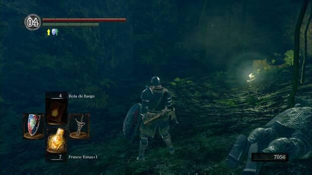 Dark Souls Remastered, Jardín Tenebroso, Camino oculto