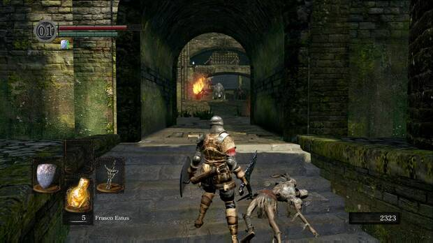 Dark Souls Remastered, Parroquia de los no muertos, Torre, Jabalí