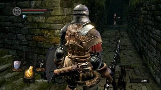 Dark Souls Remastered, Parroquia de los no muertos, Entrada, Trampa