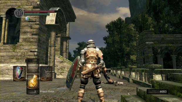 Dark Souls Remastered, Parroquia de los no muertos, Entrada lateral, Iglesia
