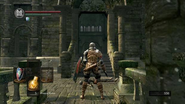 Dark Souls Remastered, Parroquia de los no muertos, Exterior, Entrada, Capilla