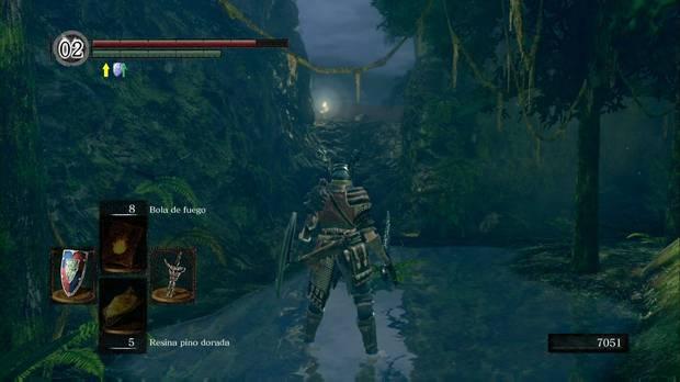 Dark Souls Remastered, Cuenca tenebrosa, Cuesta a la cuenca