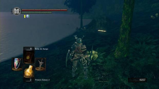Dark Souls Remastered, Cuenca tenebrosa, Señal de invocación de Oolacile