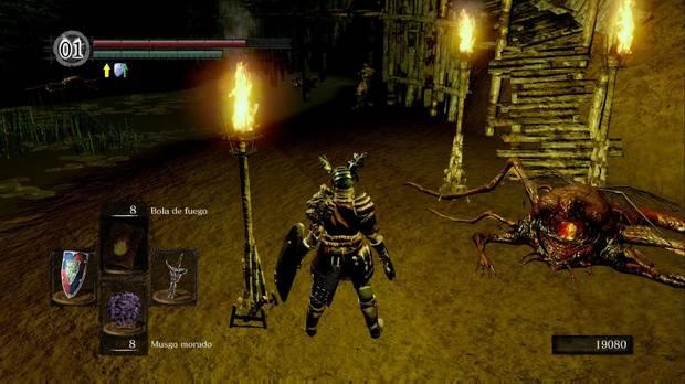 Dark Souls Remastered, Ciudad infestada, Mercader, Shiva del este, Murakumo, Uchigatana