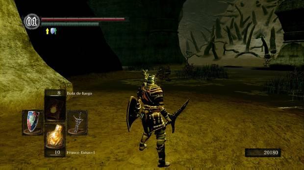 Dark Souls Remastered, Ciudad infestada, Pantano, Orilla, Objetos, Gran Garrote