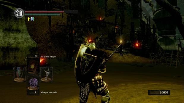 Dark Souls Remastered, Ciudad infestada, Pantano, Orillas, Cuesta, Set de vagabundo