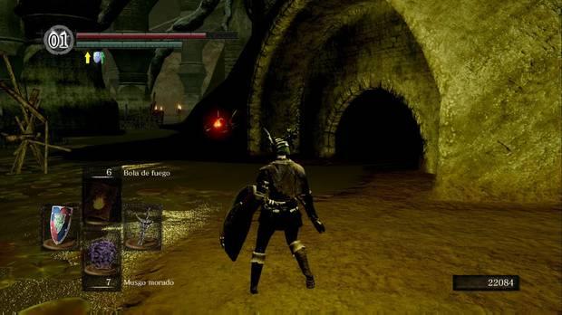 Dark Souls Remastered, Ciudad infestada, Pantano, Orillas, Hoguera oculta