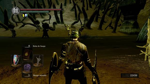 Dark Souls Remastered, Ciudad infestada, Pantano, Ciénaga, Gigantes, Quelaag