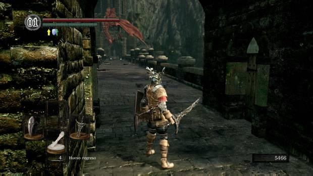 Dark Souls Remastered, Burgo de los no muertos (nivel inferior), Puerta de acceso