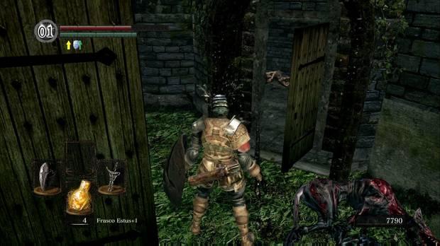 Dark Souls Remastered, Burgo de los no muertos (nivel inferior), Set de ladrón, Escudo objetivo