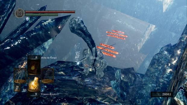 Dark Souls Remastered, Cueva de cristal