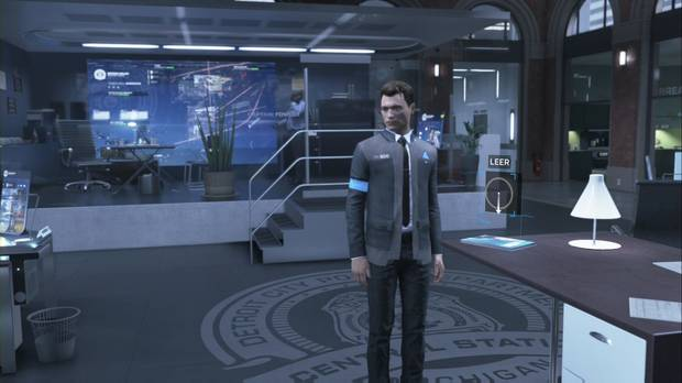 Detroit: Become Human, Guía paso a paso, Capítulo 12, Esperando a Hank...