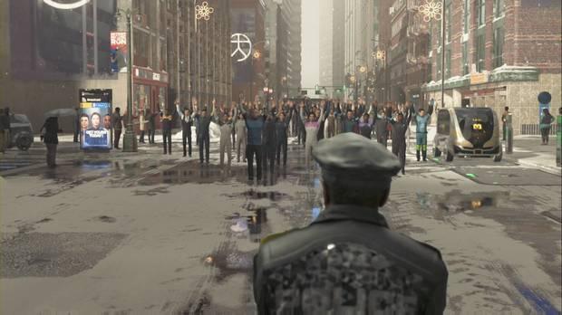 Detroit: Become Human, Guía paso a paso, Capítulo 28, La marcha de la libertad