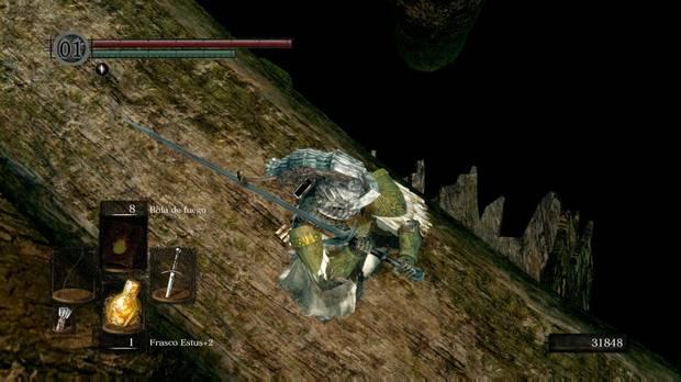 Dark Souls, Lago de ceniza