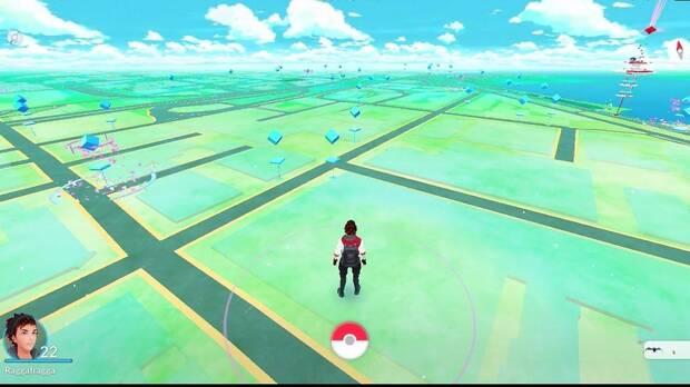 Pokémon Go en Horizontal