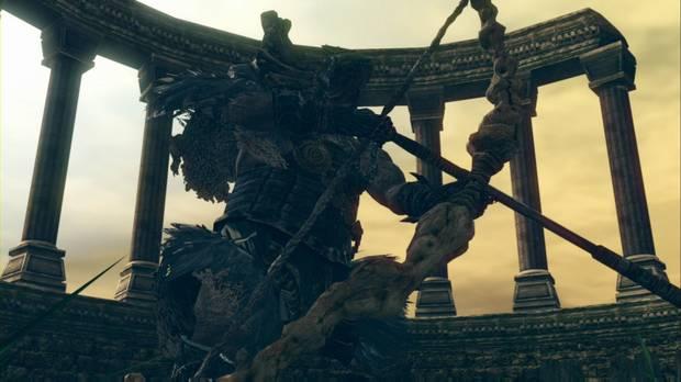 Dark Souls Remastered, Artorias del Abismo DLC, Gough, Kalameet