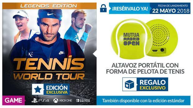 GAME detalla sus incentivos por la reserva de Tennis World Tour Imagen 2
