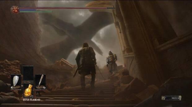 Comparan una de las escenas del último episodio de Juego de Tronos con Dark Souls Imagen 2