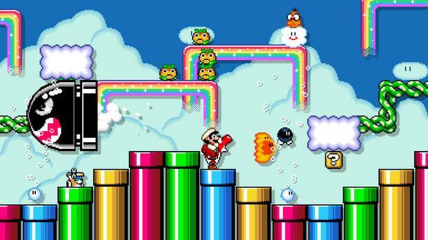Super Mario Maker 2 presenta multitud de novedades, como el multijugador online Imagen 7
