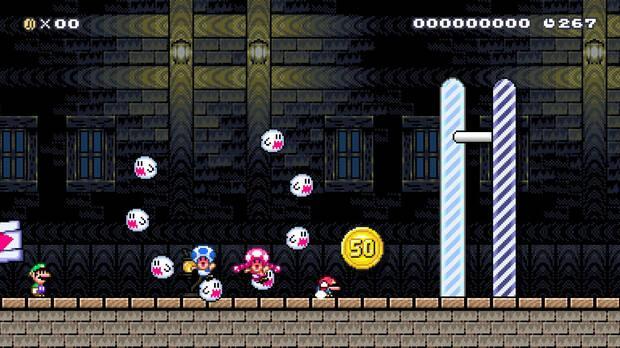 Super Mario Maker 2 presenta multitud de novedades, como el multijugador online Imagen 9
