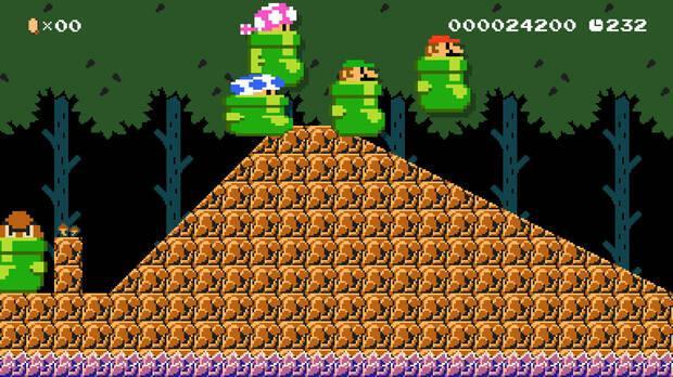 Super Mario Maker 2 presenta multitud de novedades, como el multijugador online Imagen 10