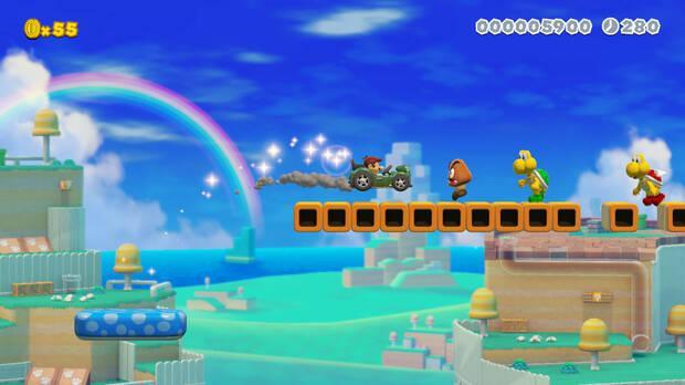 Super Mario Maker 2 presenta multitud de novedades, como el multijugador online Imagen 11