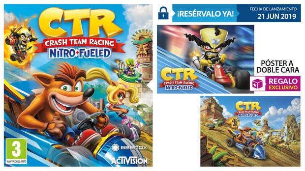 GAME detalla su incentivo por reserva para Crash Team Racing Nitro-Fueled Imagen 2