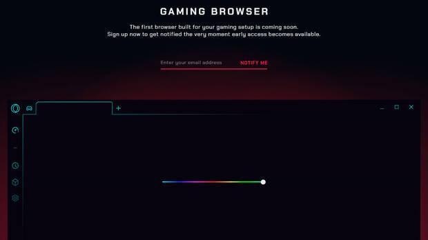 Opera anuncia su navegador para 'gamers' Imagen 2
