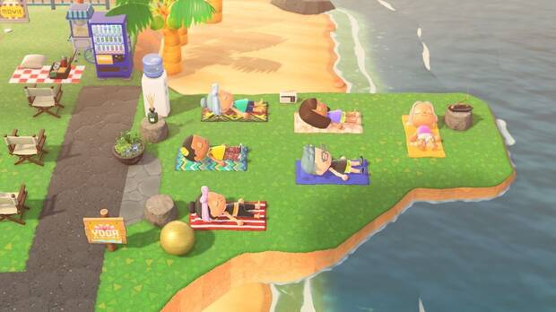 Sentosa, in Singapore, uses Animal Crossing to promote itself as a tourist destination