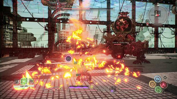 Scarlet Nexus demo jefe final