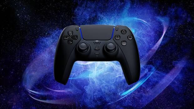 Nuevo DualSense oficial en color negro para PS5.