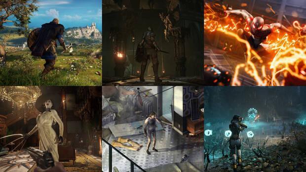 PS5 juegos lanzamiento